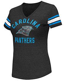 G-III Sports Women's Carolina Panthers Wildcard Bling T-Shirt