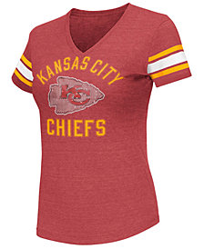 G-III Sports Women's Kansas City Chiefs Wildcard Bling T-Shirt