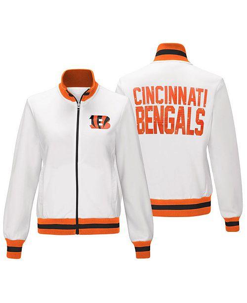G-III Sports Women s Cincinnati Bengals Field Goal Track Jacket ... 6c51107dd8