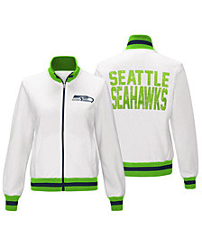 G-III Sports Women's Seattle Seahawks Field Goal Track Jacket