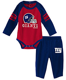 Outerstuff New York Giants Future Starter Pant Set, Infants (0-9 Months)