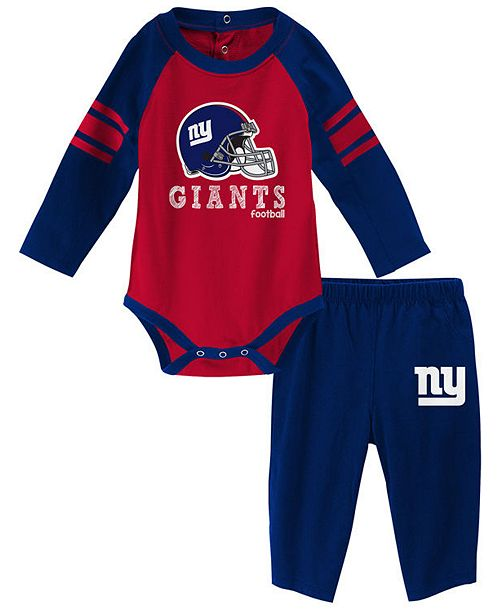 1496442f New York Giants Future Starter Pant Set, Infants (0-9 Months)