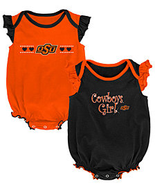 Outerstuff Oklahoma State Cowboys Homecoming Creepers 2 Pack, Infants (0-9 Months)