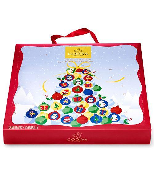 Godiva Advent Calendar.Godiva 24 Piece Advent Calendar Reviews Gourmet Food Gifts