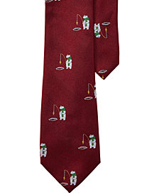 Lauren Ralph Lauren Men's Graphic Patterned Silk Tie