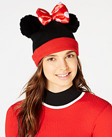 Concept One Minnie Mouse Pom Pom Beanie