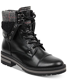 Tommy Hilfiger Dyan Lace-Up Winter Boots