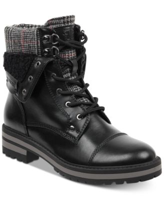 tommy hilfiger dyan lace up winter boots boots shoes macy\u0027s  main image; main image