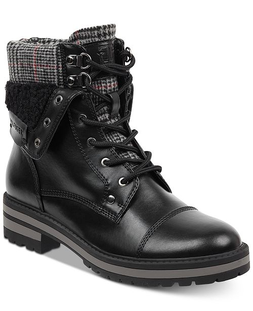 3a77400bac65 Tommy Hilfiger Dyan Lace-Up Winter Boots   Reviews - Boots ...