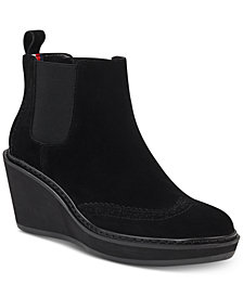 Tommy Hilfiger Sirina Platform Wedge Booties