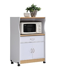 Microwave Kitchen Cart