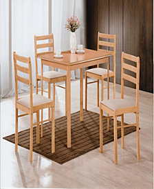 5-Piece Dinette Set in Beech