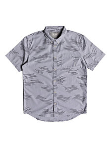 Quiksilver Valley Groove Print Short Sleeve Woven