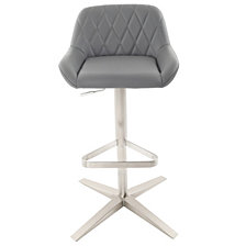 Geo Adjustable Height Barstool
