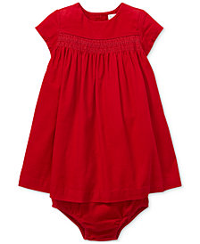Polo Ralph Lauren Baby Girls Corduroy Dress