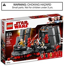 Snoke's Throne Room 75216