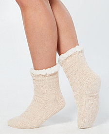 Charter Club Chenille Slipper Socks, Created for Macy's