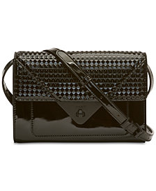 DKNY Jaxone Leather Clutch Crossbody, Created for Macy's