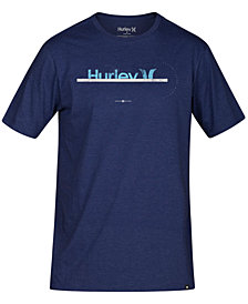 Hurley Men's Exports Logo Graphic T-Shirt