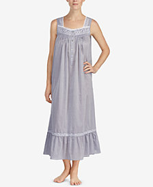 Eileen West Cotton Chambray Ballet Nightgown