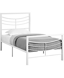 Bed - Twin Size Metal Frame Only