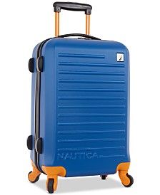 """Nautica Tide Beach 21"""" Carry-On Hardside Spinner Suitcase"""