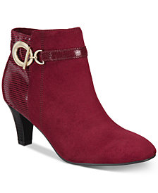 Karen Scott Violaa Ankle Booties, Created for Macy's