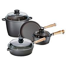 Tradition 7pc Cast Aluminum Cookware Set
