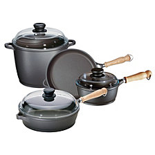 Berndes Tradition 7pc Cast Aluminum Cookware Set