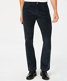 Alfani Men's Navy Corduroy Pants, Created for Macy's