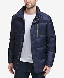 Cole Haan Men's Quilted Packable Jacket