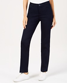 Lee Platinum Petite Soft Stretch Straight-Leg Pants