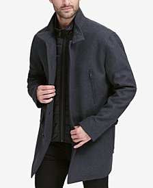 Cole Haan Men's Walking Coat with Bib