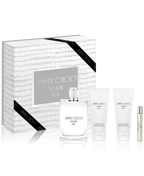 Jimmy Choo Men's 4-Pc. Man Ice Gift Set
