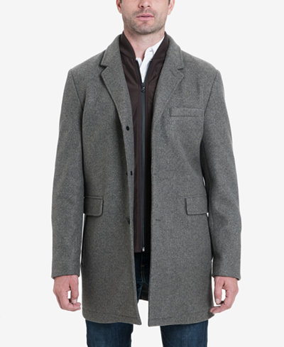Michael Kors Men's Ghent Stretch Wool Top Coat