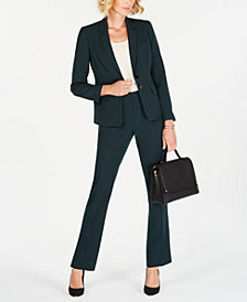 Kasper Two-Button Blazer & Slim-Leg Pants