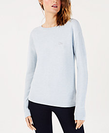 Lacoste Cotton Boat-Neck Sweater