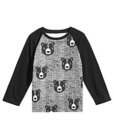 First Impressions Baby Boys Bear-Print Cotton T-Shirt, Created for Macy's