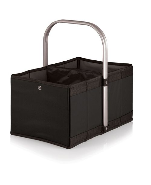 Picnic Time Oniva™ by Black Urban Basket Collapsible Tote