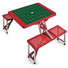 Picnic Time Picnic Table Portable Folding Table with Seats