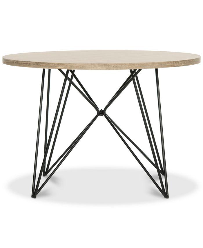 Safavieh - Vida Wood End Table, Quick Ship