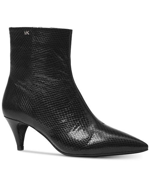 2014e7b5ba2a Michael Kors Blaine Flex Kitten Booties & Reviews - Boots - Shoes ...