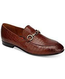 Tallia Men's Lorenzo Crocodile Loafers