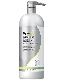 DevaCurl Wash Day Wonder Pre-Cleanse Slip Detangler, 32-oz., from PUREBEAUTY Salon & Spa