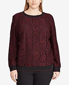 Lauren Ralph Lauren Plus Size Pullover