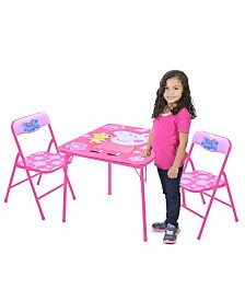 Peppa Pig 3-Piece Table & Chair Set