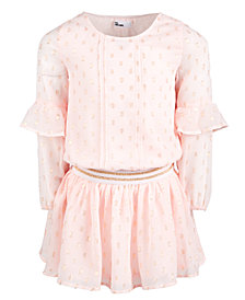 Epic Threads Toddler Girls Ruffle Sleeve Drop-Waist Dress, Created for Macy's