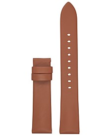 Michael Kors Access Runway Brown Leather Smart Watch Strap