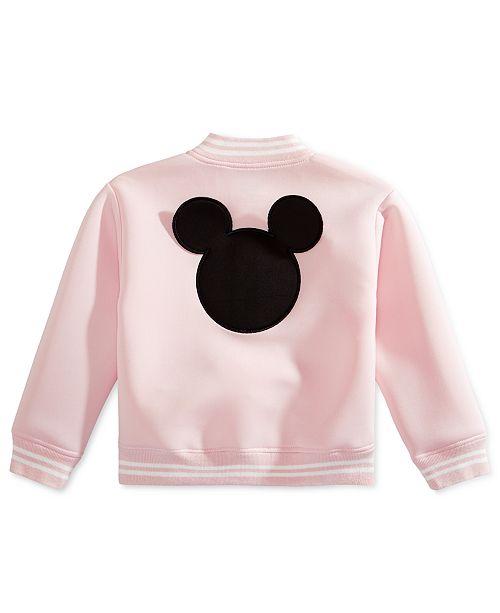 fc74688d394a Disney Toddler Girls Mickey Mouse Scuba Bomber Jacket & Reviews ...