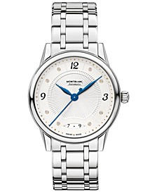 Women's Swiss Automatic Bohème Stainless Steel Bracelet Watch 34mm